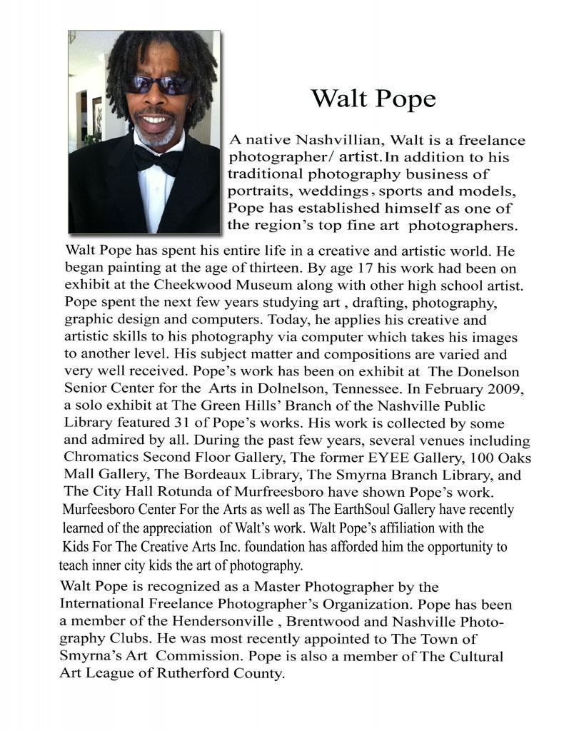 Walt Pope